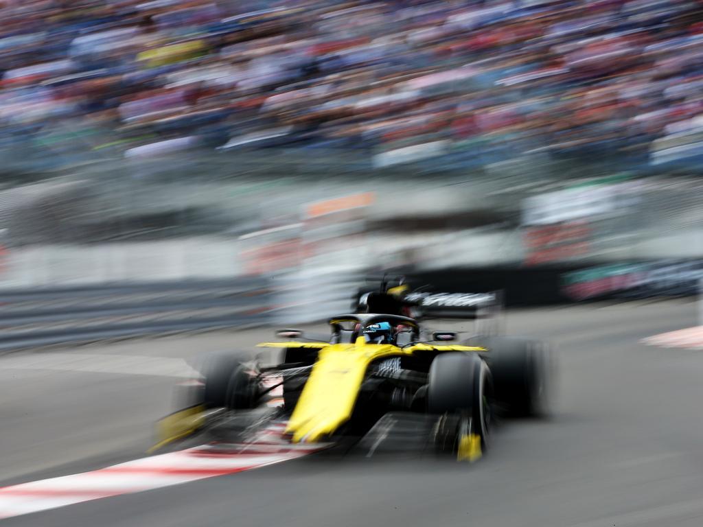 Even in a Renault, Daniel Ricciardo can rip up the streets of Monaco.