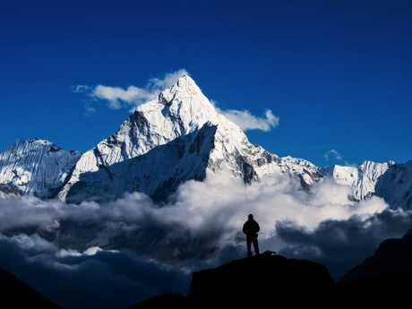 Mount Everest is the world's tallest mountain in terms of altitude