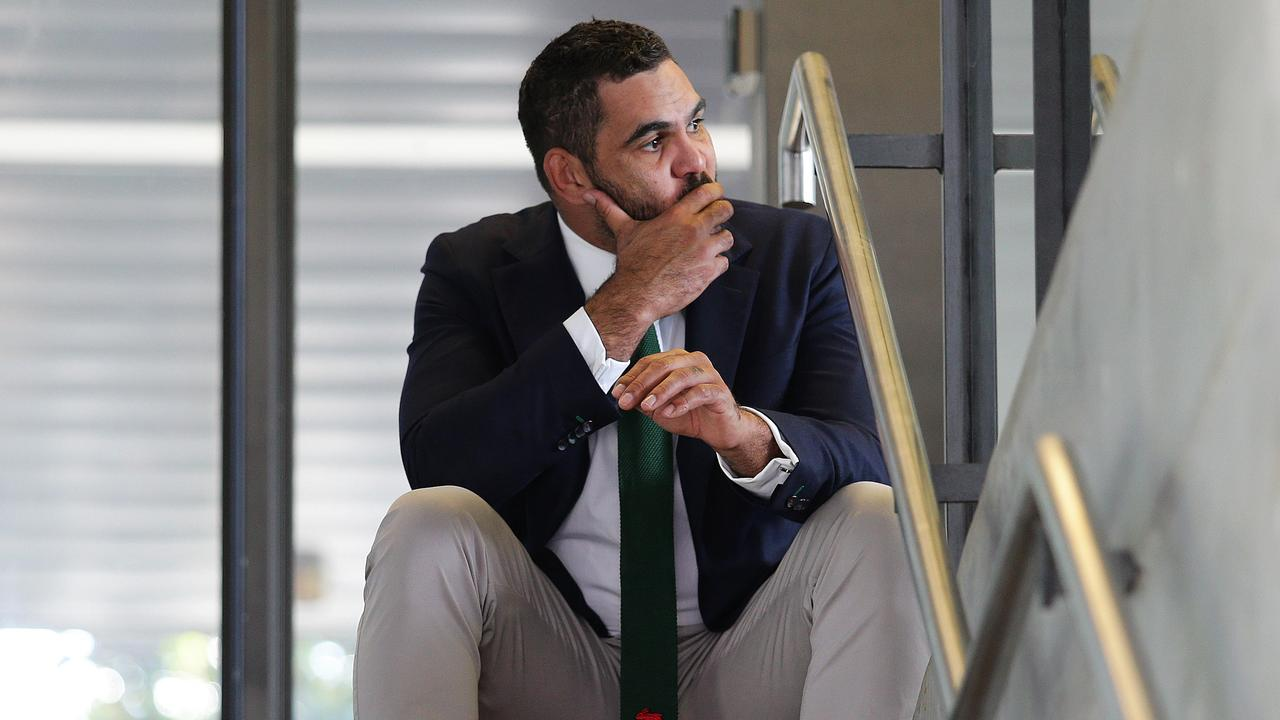 Greg Inglis was forced into retirement earlier this year due to ongoing injuries. Picture: Brett Costello