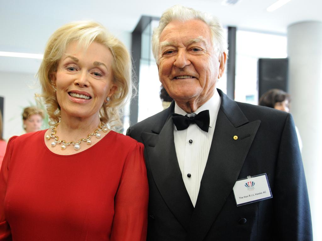 Bob Hawke and Blanche d'Alpuget