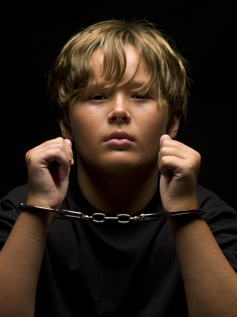 Handcuffed child. Picture: iStock