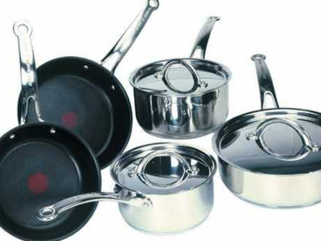 Jamie Oliver also branched into cookware. Picture: Supplied
