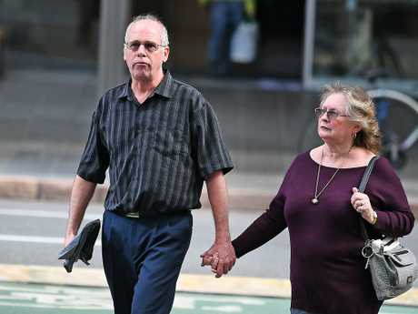 Brett and Bonnie Scovell are the Parents of Sean Scovell who died in a workplace accident in 2012. Picture: AAP image, John Gass