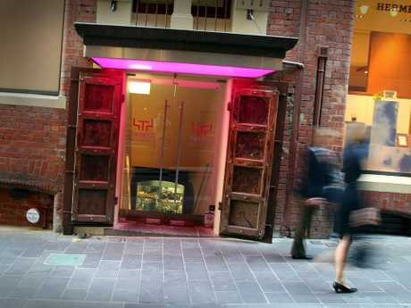 Jamie Oliver's Fifteen restaurant in Melbourne. Picture: Supplied