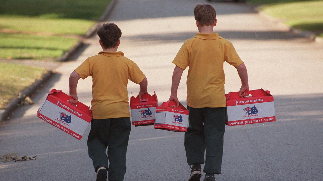 Children need to learn that giving is the gift. Picture: Kerry Berrington