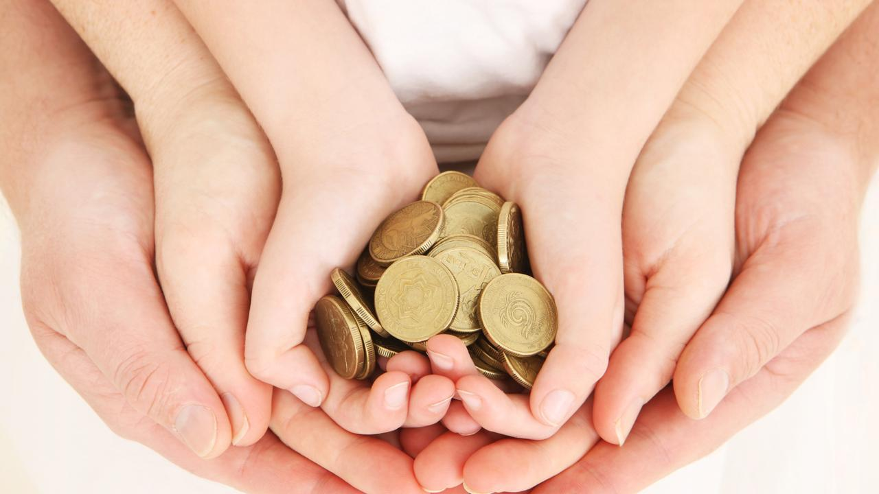 Incentivising children to fundraise by offering prizes in the form of money and expensive gadgets destroys the true meaning of giving without expectation of reward. Picture: iStock