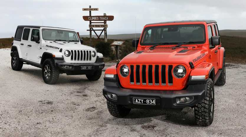Jeep's rough and tough looks are a big selling point.