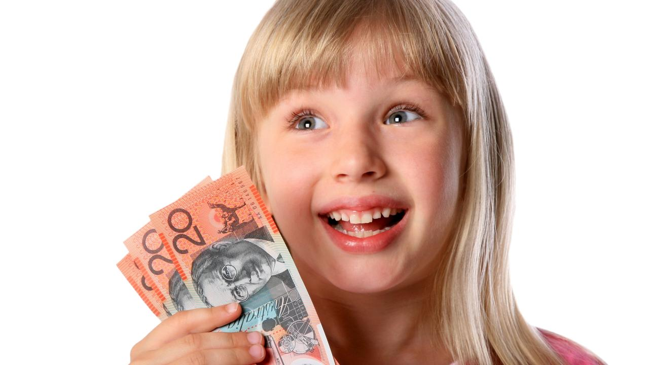 If kids are always rewarded with money or gists for fundraising, then this is what they'll expect. Picture: iStock