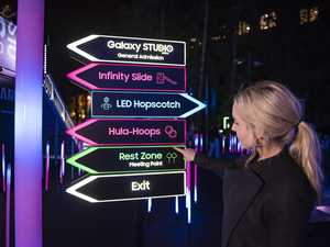 Samsung Electric Playground and Galaxy Studio at Vivid Sydney