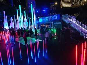 Vivid Sydney opening night