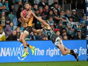 Gunston's six goals lead Hawks to victory over Port Adelaide