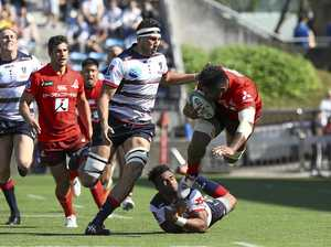 Rebels win big in Tokyo but Genia knocked out