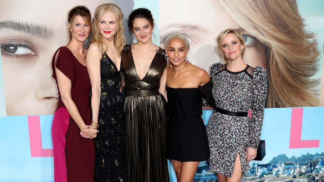 The cast of Big Little Lies are back for a second series … with more secrets (and lies) promised. Picture: AFP