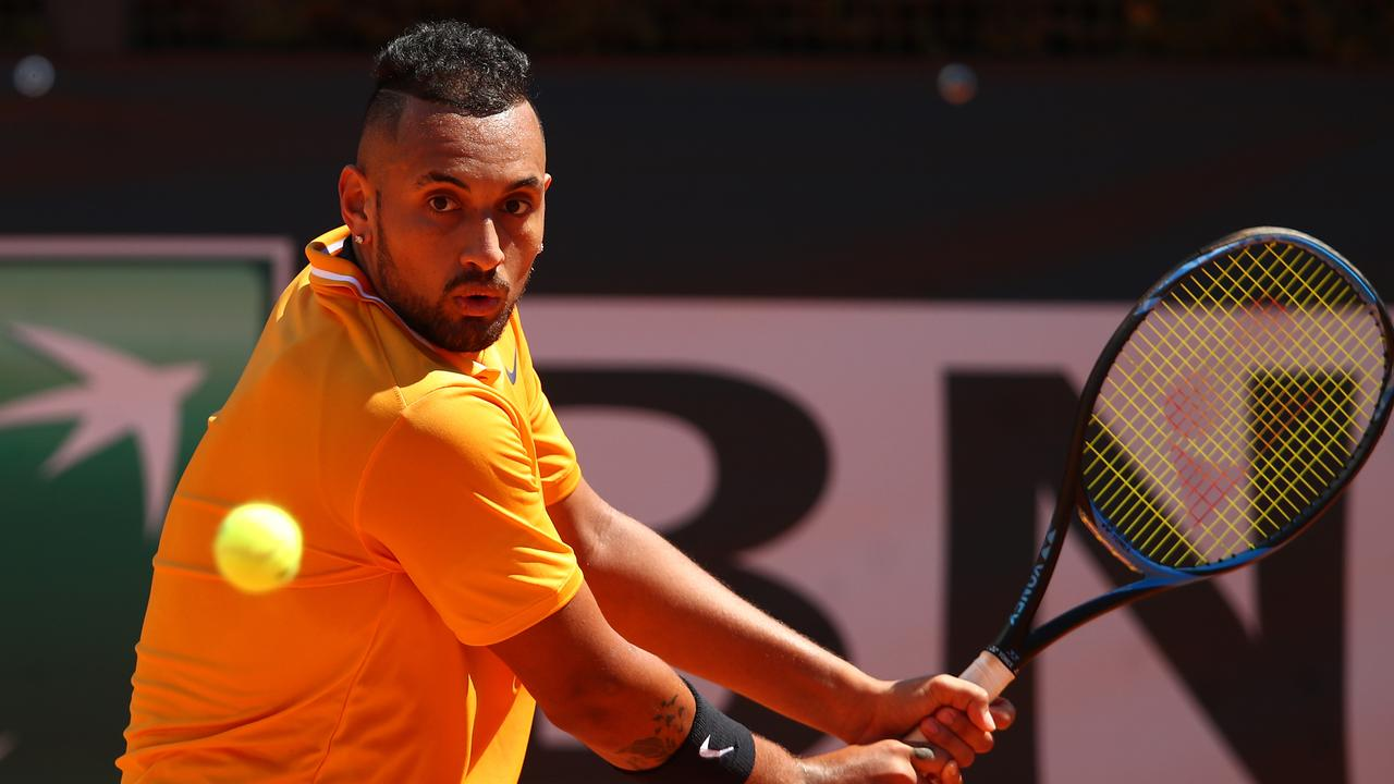 Nick Kyrgios has withdrawn from the French Open. Picture: Getty Images