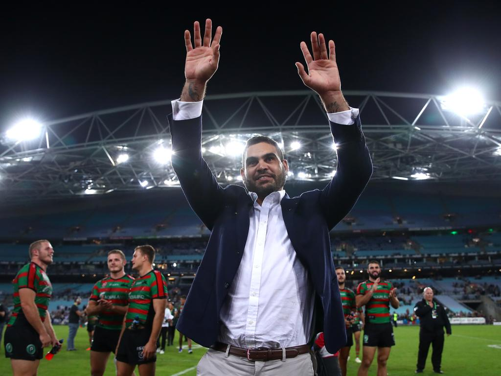 The recently retired Greg Inglis has been admitted to rehab after his Brisbane bender.