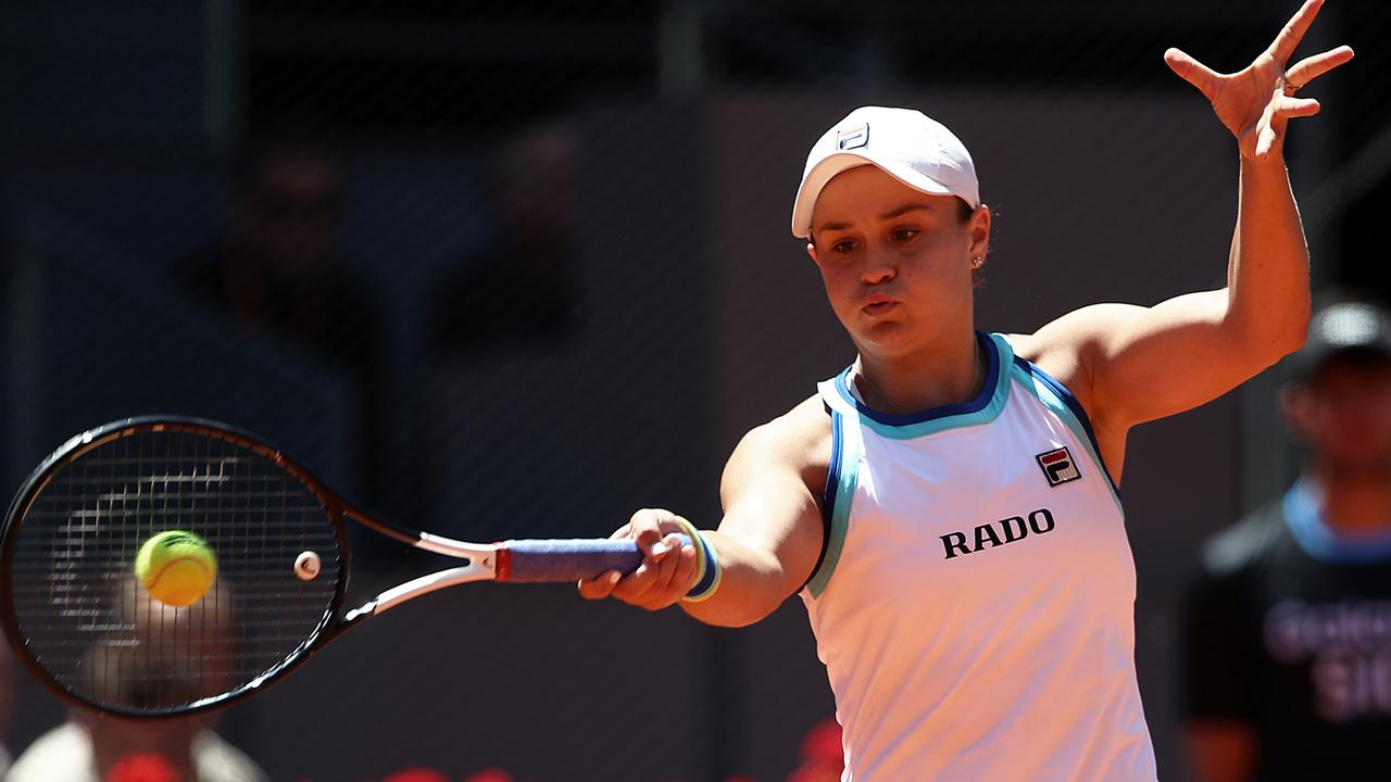 Ashleigh Barty hopes to reverse her fortunes at Roland Garros this year. Picture: Getty Images