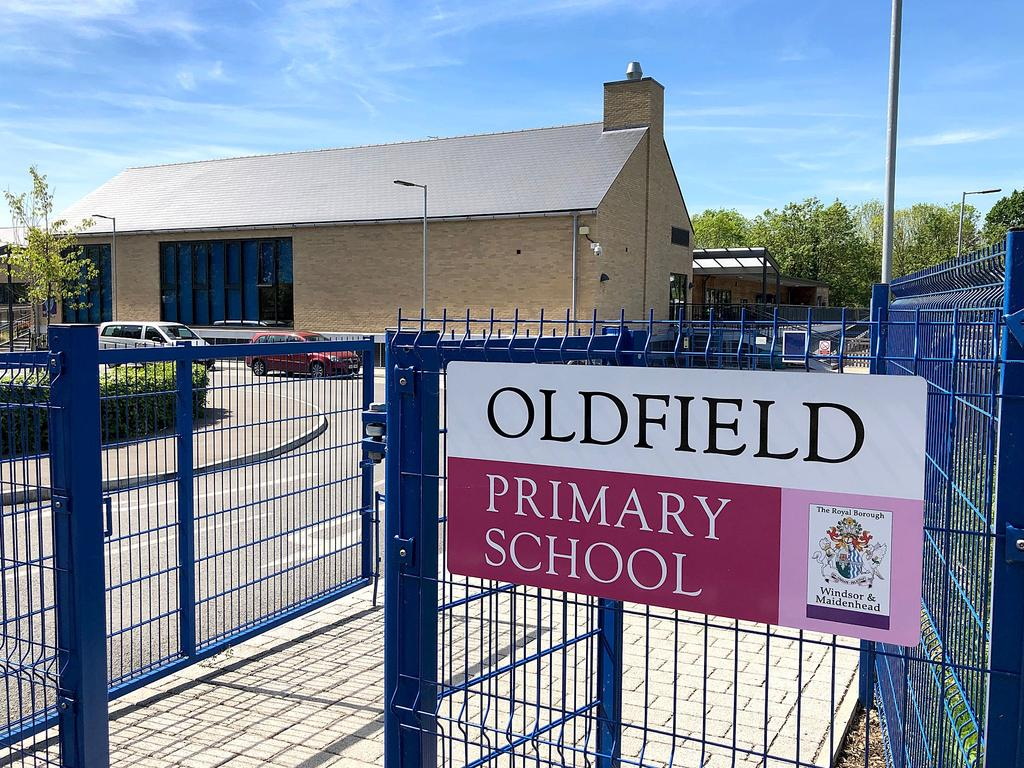 Harris was spotted near the Oldfield Primary School, just a few hundred metres from his home in February. Police then investigated whether he had breached parole restrictions. Picture: Jeff Rayner/Coleman-Rayner