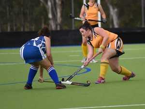 Fraser Coast Hockey - A grade Wallaroos (Blue) v