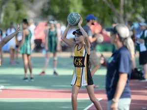 Netball: Cap 11s Rya Hope.