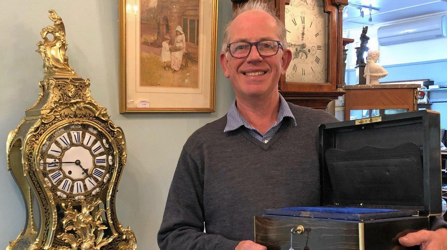 Get all of your valuables valued by antique dealer Jeremy Green who has over 30 years in the business.