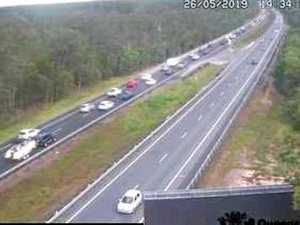 'Nightmare' Bruce Hwy congestion after crash
