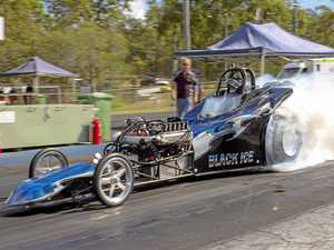 Action pleased Gladstone drag racing president