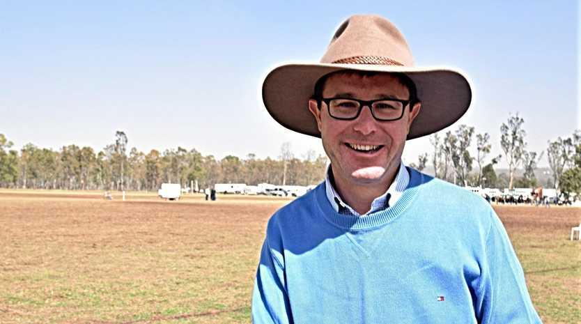 Maranoa MP David Littleproud will take on a new role in Scott Morrison's Cabinet.
