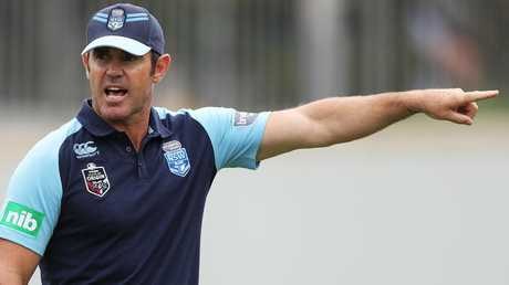 Brad Fittler will announce the NSW Blues team for State of Origin I. Picture: Phil Hillyard