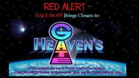 Heaven's Gate cult website.