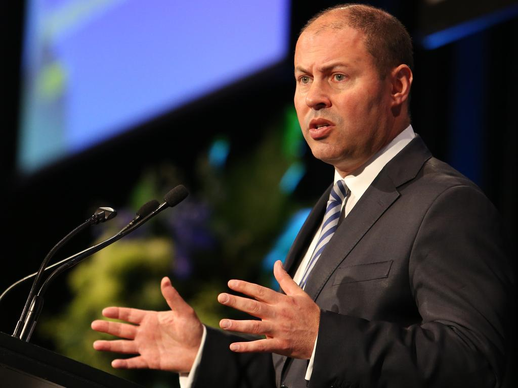 Josh Frydenberg is expected to remain as Treasurer in the new-look Morrison cabinet. Picture: Hollie Adams.