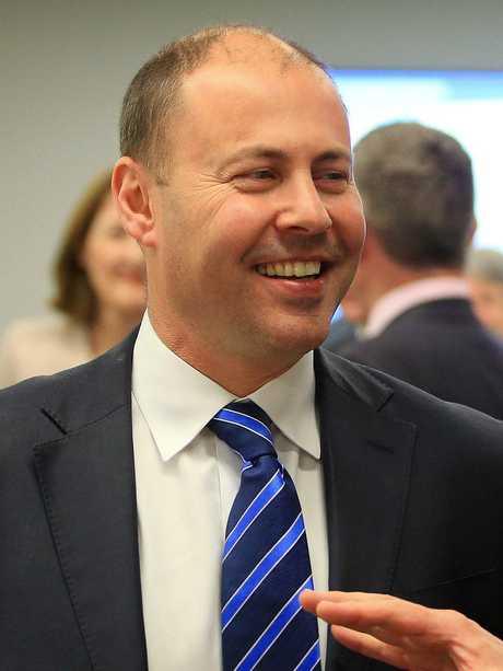 Treasurer Josh Frydenberg will continue as Treasurer. Picture: Aaron Francis