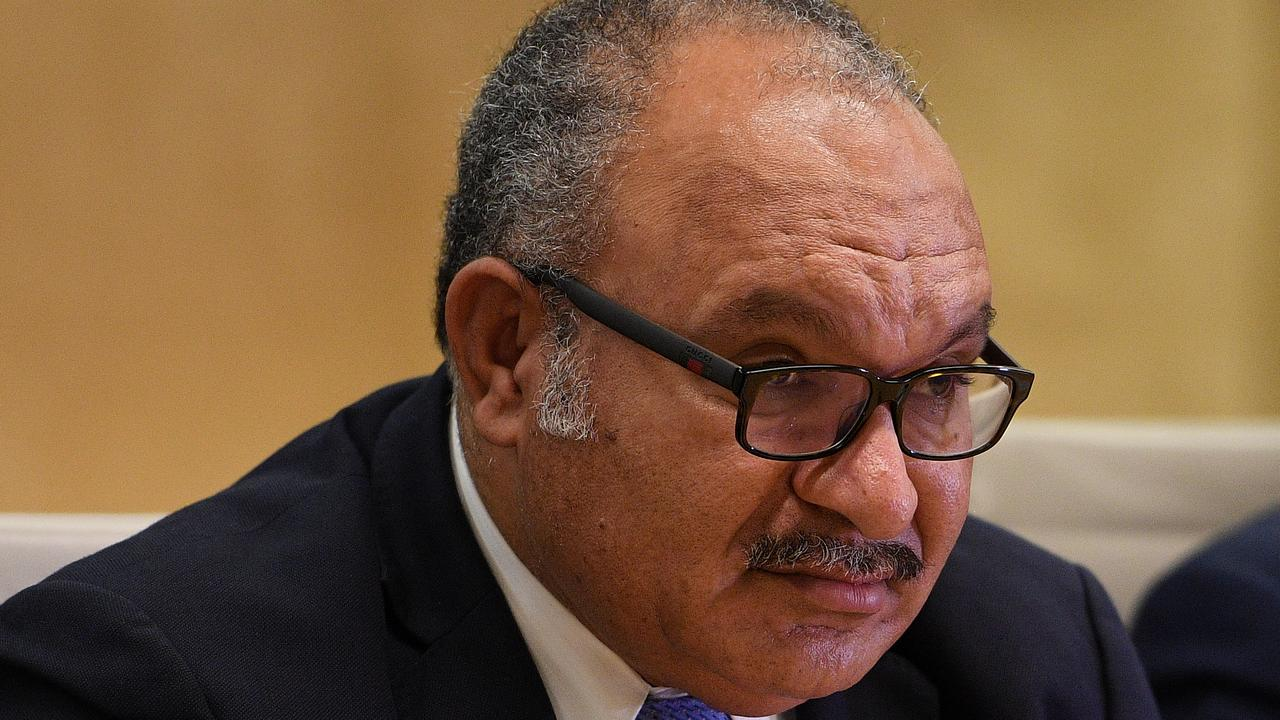 Peter O'Neill has handed the leadership to Sir Julius Chan. Picture: AFP