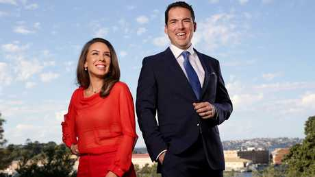 Peter Stefanovic will be the new co-host of weekday breakfast program First Edition, alongside Laura Jayes. Picture: Jonathan Ng