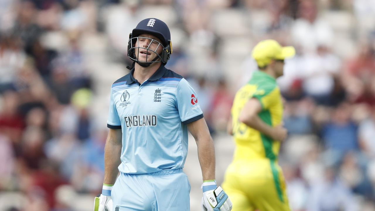 No sledging: England's Jos Buttler says his team has no interest in baiting Australia's returning stars. Picture: AP