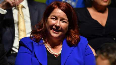 Melissa Price was something of a laughing stock during the campaign. Picture: AAP