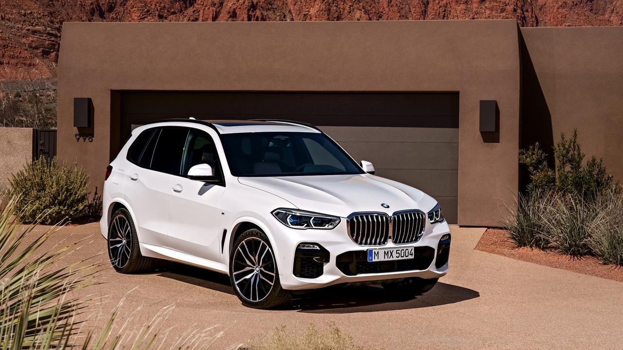 The X5 has lots of room for a growing family.