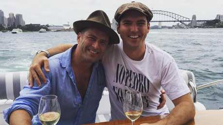 The brothers have both been embroiled in controversy which left the network upset. Picture: Instagram/@peter_stefanovic