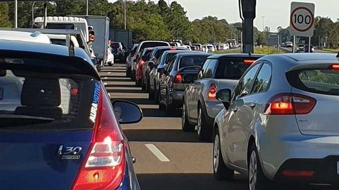 MOTORWAY MAYHEM: Road closed, two injured in chaotic morning