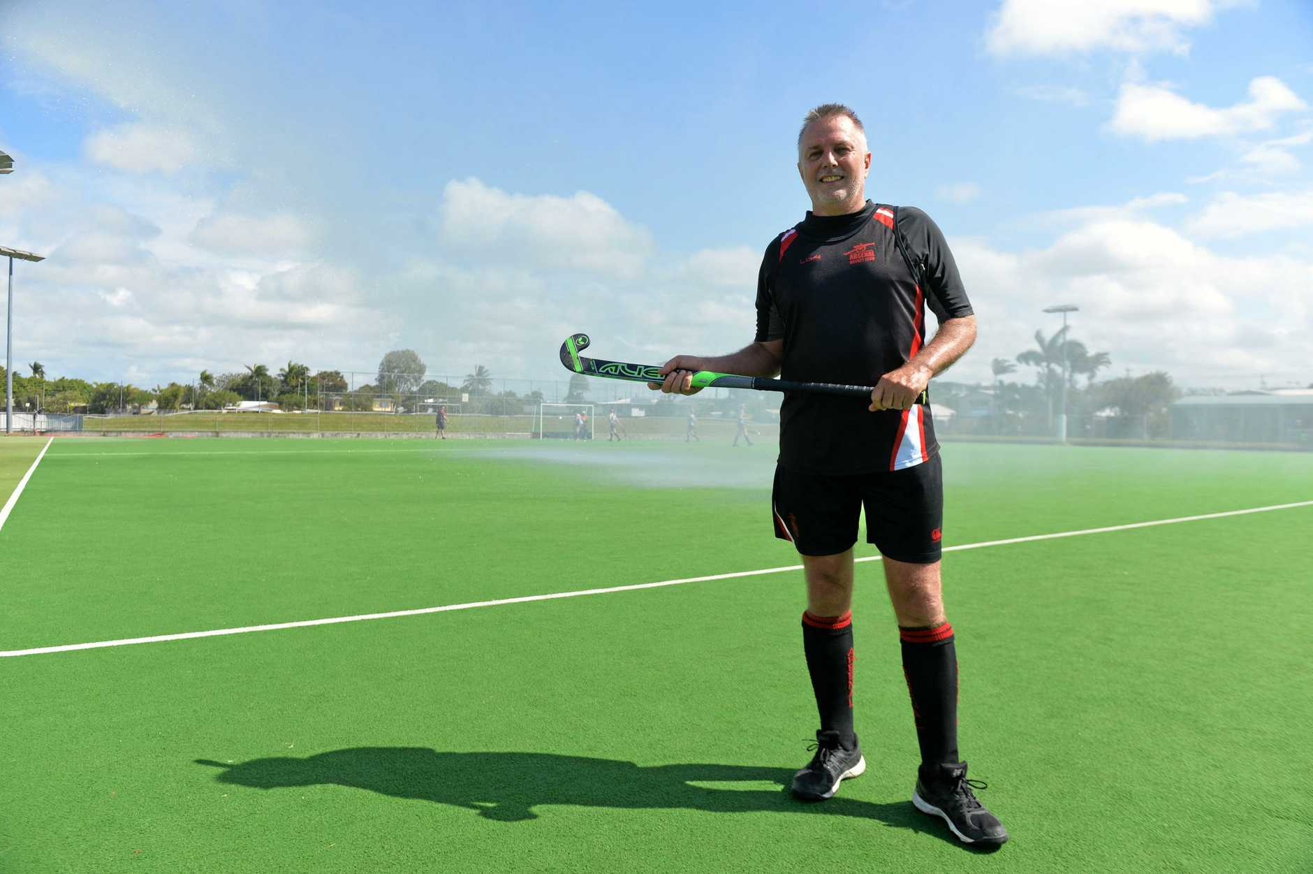 Bill Mackay reached 1000 games for Arsenals hockey club.  2019 was his 41st consecutive year playing for Arsenal (started in 1979) and also Mackay Hockey Association
