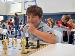 Kids get checked in chess tournament
