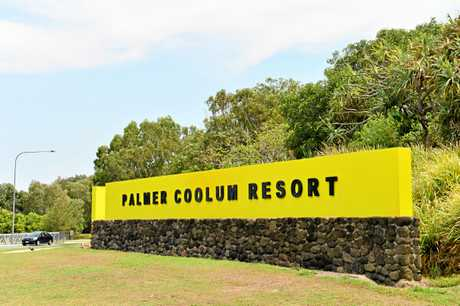 FLASHBACK: The Palmer Coolum Resort sign in 2016.