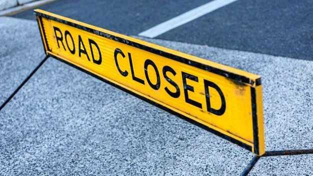 Emergency road closure as investigations continue