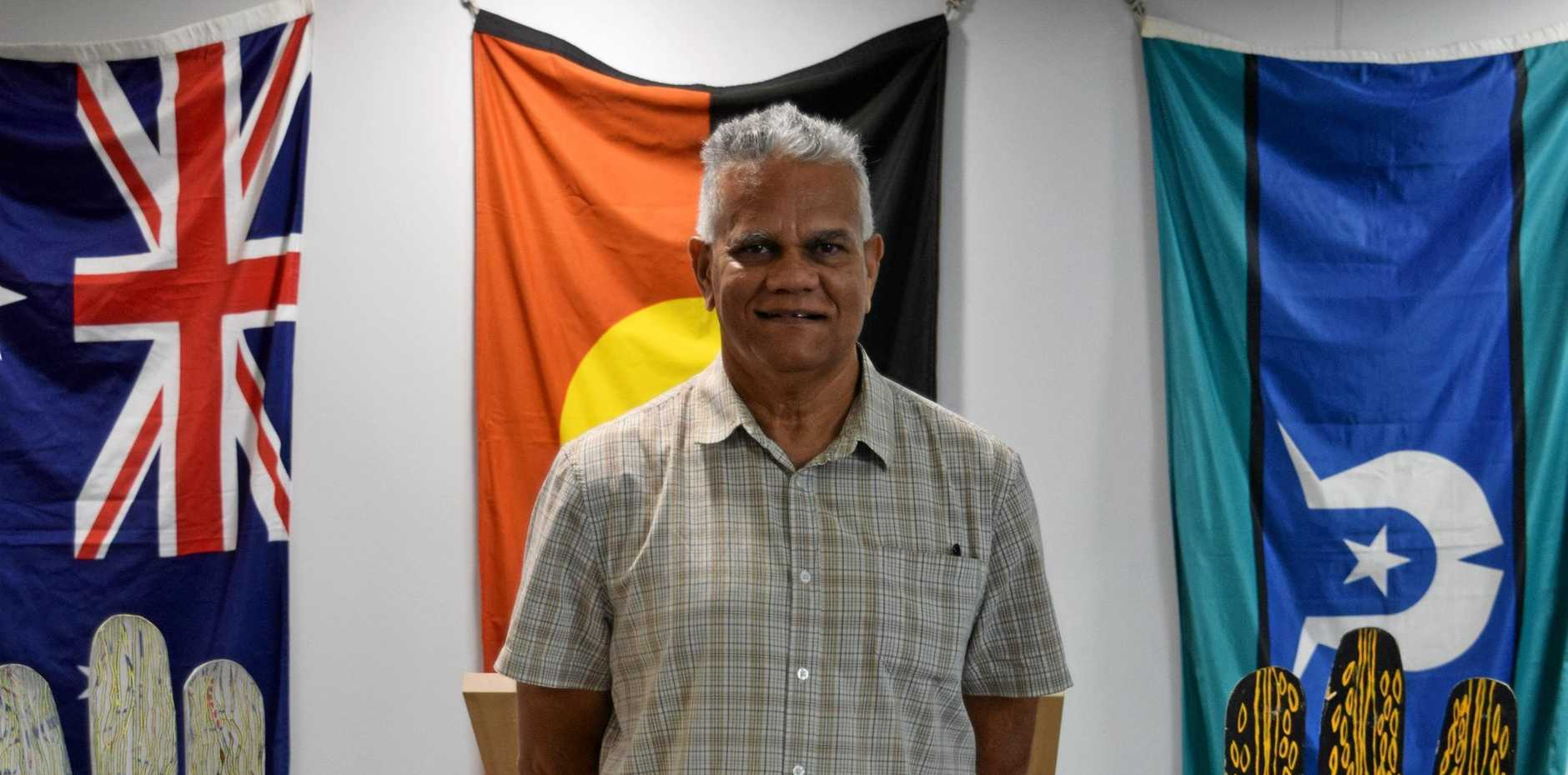 Traditional Custodian Philip Kemp worked closely with Mackay Regional Council on the new Stretch RAP.