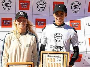 Walters claims hat-trick of Pro Junior surfing titles