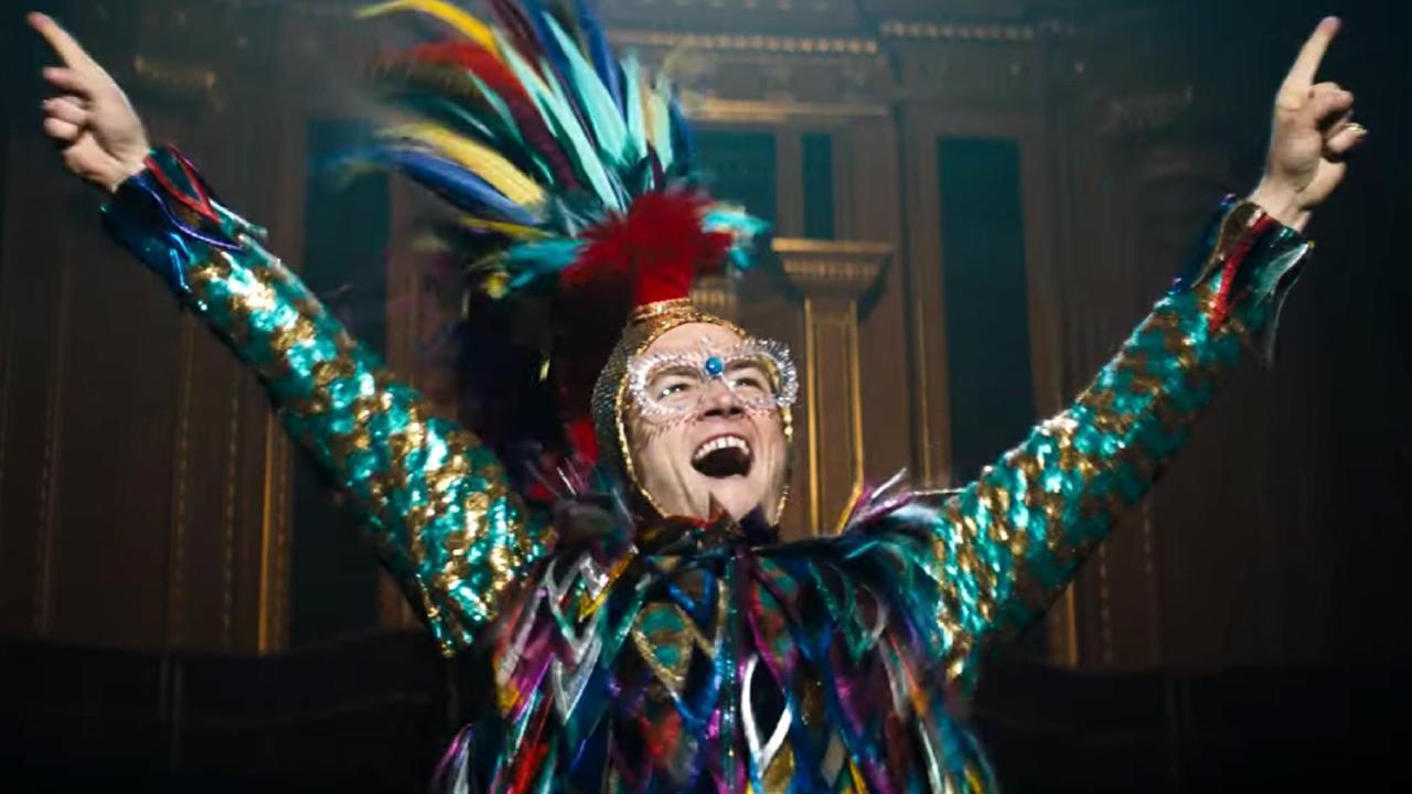 Rocketman feels emotionally honest about Elton John's self-loathing