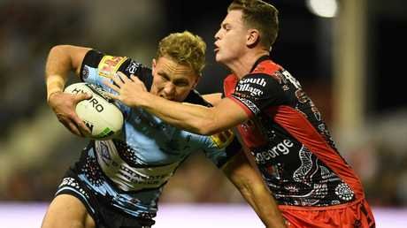 Matt Moylan was superb for the Sharks on his return from injury. Picture: AAP
