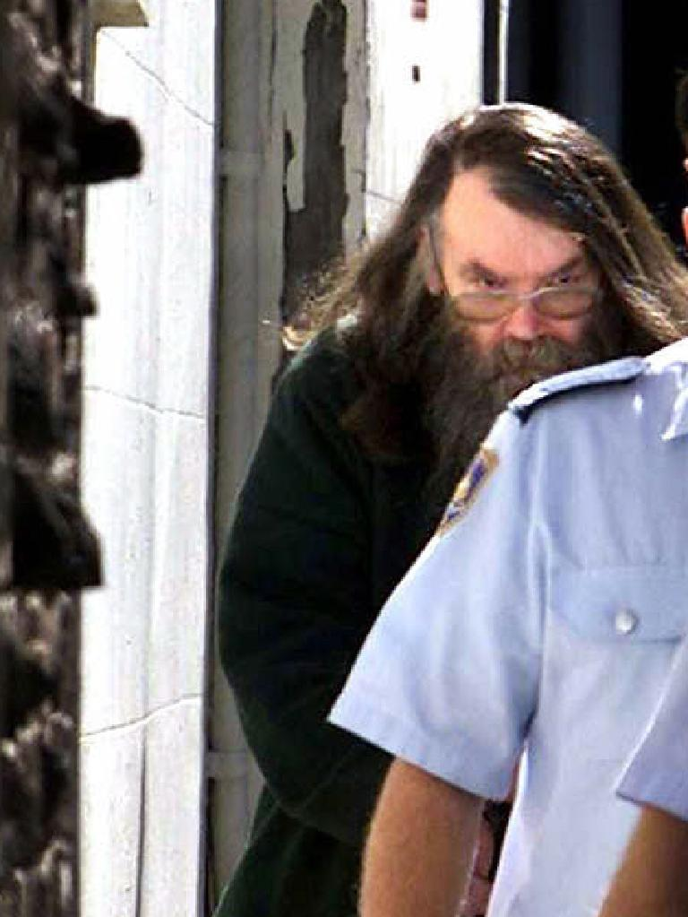 Guider in August 2002 after being sentenced for Samantha Knight's manslaughter.