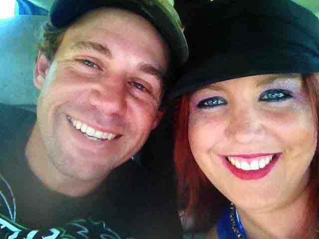 HAPPIER TIMES: Gavin Boekel and his wife Rachelle Boekel are all smiles pictured before the accident.