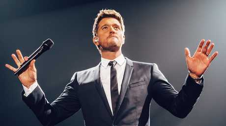 Michael Buble is headed Down Under for his first full tour in six years. Picture: Luke Dyson