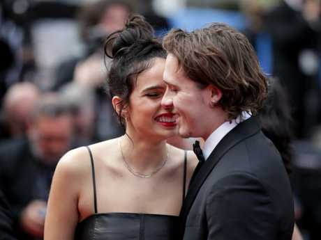 The couple put on a loved-up display in Cannes, but things reportedly weren't so rosy behind the scenes. Picture: Getty Images